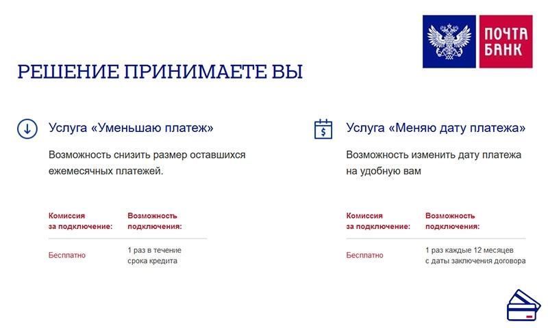 Кредит почта россии онлайн калькулятор онлайн кредит банк